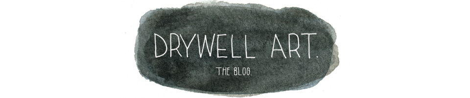 drywell art. the blog.